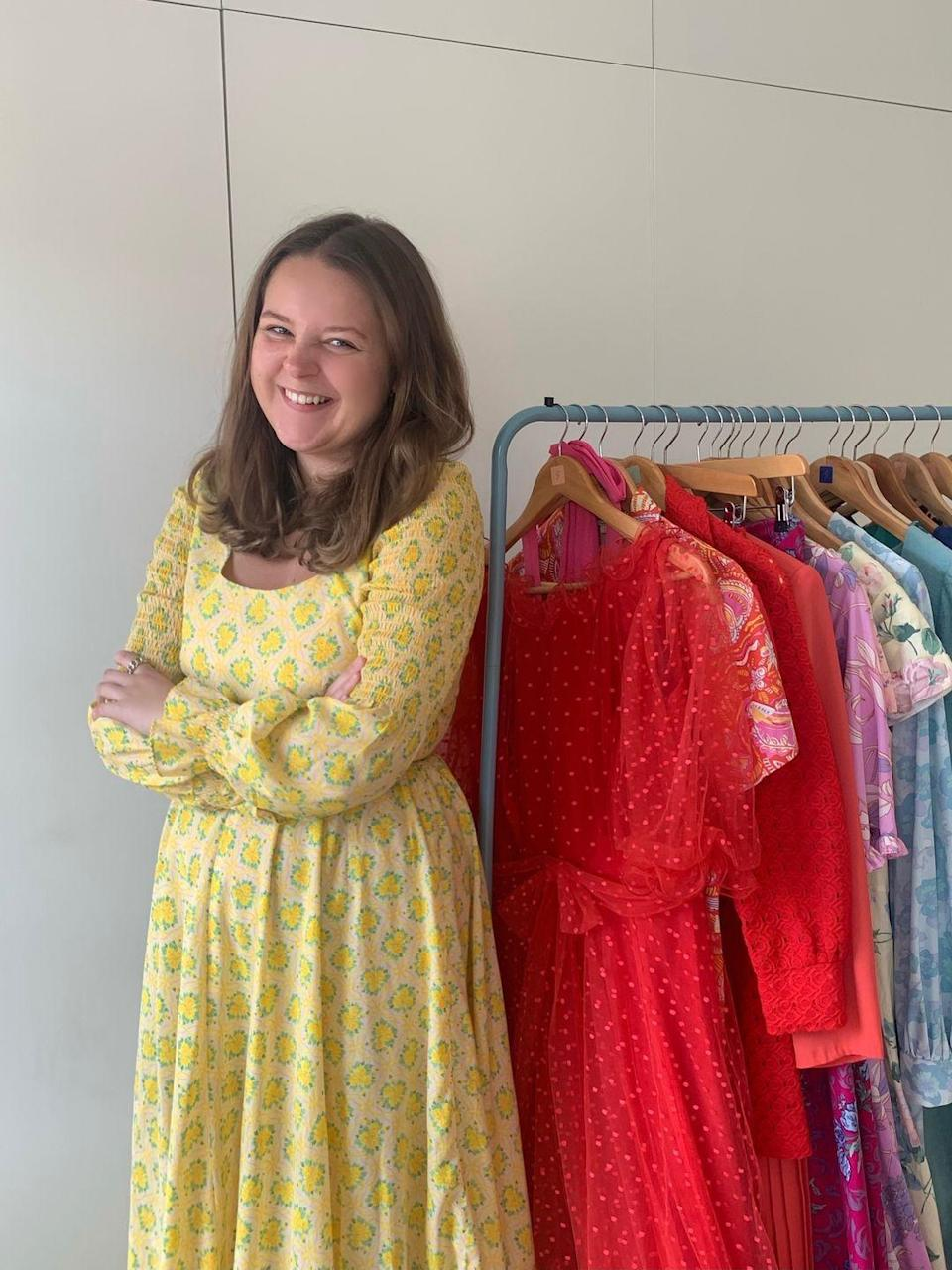 """<p>'I am not led by one particular trend or era and always try to stock a wider range of sizes,' Saluto London founder Hannah Stacpoole told ELLE UK. </p><p>'You can find anything from a full-length floral number - which is as easily teamed with a pair of 1970s platforms as is with a pair of trainers - to antique embroidered blouses and outrageous feathered mini-dresses.'</p><p><a class=""""link rapid-noclick-resp"""" href=""""https://www.salutolondon.com/"""" rel=""""nofollow noopener"""" target=""""_blank"""" data-ylk=""""slk:SHOP SALUTO LONDON NOW"""">SHOP SALUTO LONDON NOW</a></p>"""