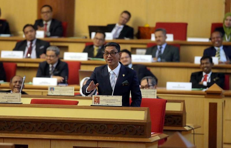 Both Perak DAP chairman Nga Kor Ming and Perak Amanah chairman Asmuni Awi denied they were planning to table a no-confidence motion against Ahmad Faizal (pic). — Picture by Farhan Najib