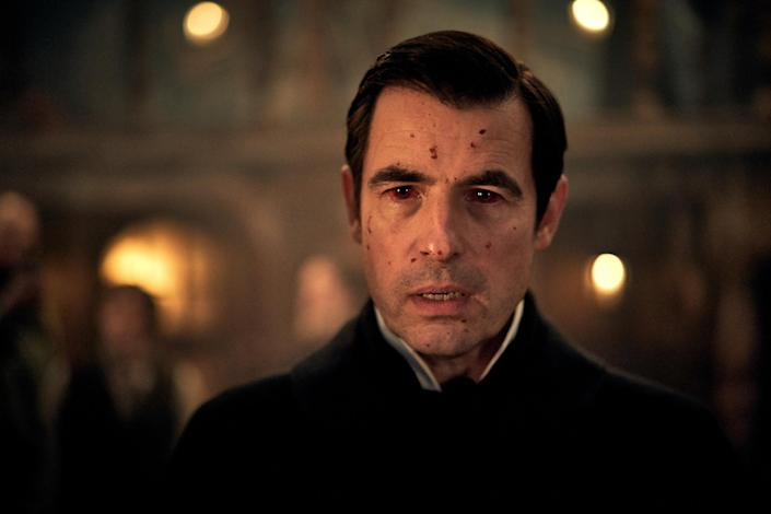 Claes Bang is superbly menacing as the vampiric count in Moffat and Gatiss's new series: BBC
