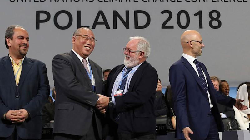 The COP24 was a sausage fest in 2018. AP
