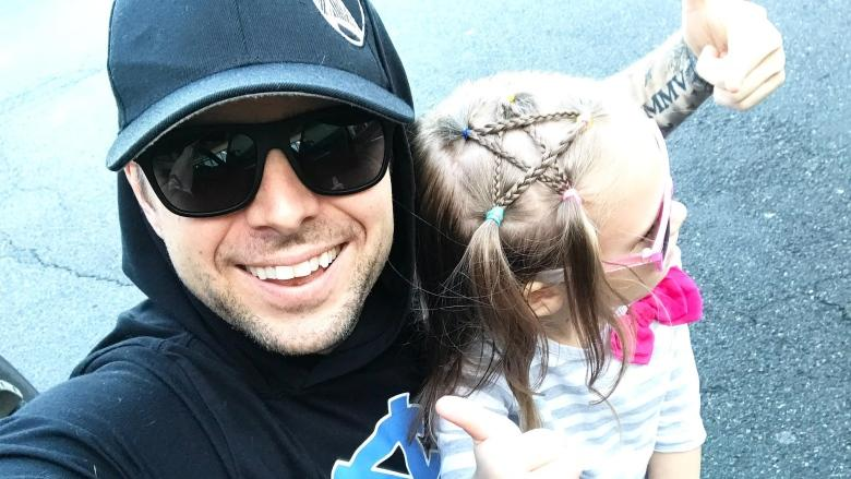 'It was crooked and awful but she smiled like you wouldn't believe': hair styling 101 for dads