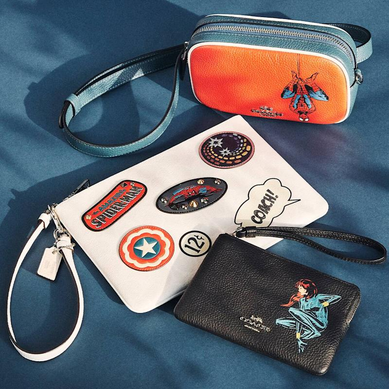 Oh Snap! Score 60% Off the Coach x Marvel Collection Now