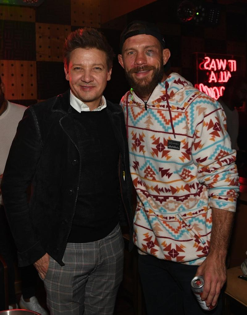 jeremy renner and donald cerrone