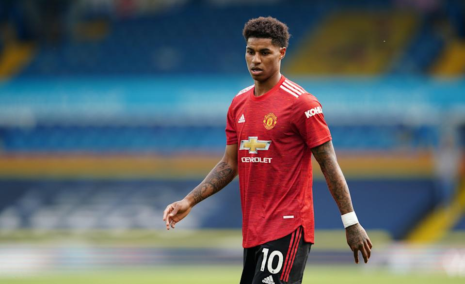 England and Manchester United striker Marcus Rashford (PA Wire)