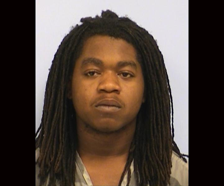 This undated photo provided by the Austin Police Department in Austin, Texas, shows Rashad Charjuan Owens. Owens, the driver who killed two people when he smashed his car through a barrier and into a street thronged with attendees of the South By Southwest festival, has been charged with capital murder. A district judge on Friday, March 14, 2014, set bail for Owens at $3 million. He remains jailed. (AP Photo/Austin Police Department)