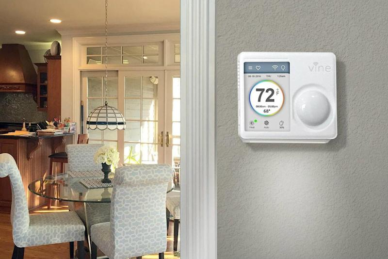 smart home devices vine smart Wi-fi thermostat