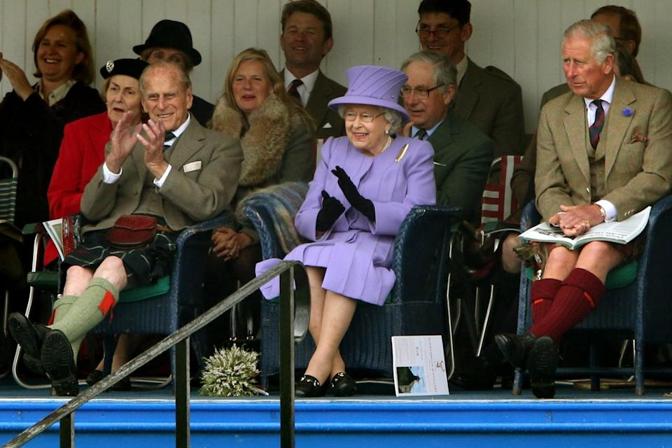 Prince Philip has a long association with the highlandsPA