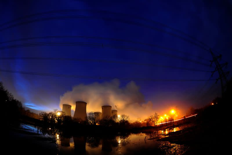 Britain's Drax to end coal power generation in 2021
