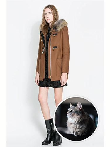 """<div class=""""caption-credit""""> Photo by: Zara</div><b>Asian Semi-Long Hair Cat</b> <br> If we didn't know any better, we would guess that Zara pulled inspiration from an Asian semi-long haired cat's sumptuous coat for its divinely trimmed hood. Zara Duffle Coat with Fur Hood, $269.00; <a href=""""http://www.zara.com/us/en/woman/coats/coats/duffle-coat-with-fur-hood-c499001p1484051.html"""" rel=""""nofollow noopener"""" target=""""_blank"""" data-ylk=""""slk:zara.com"""" class=""""link rapid-noclick-resp"""">zara.com</a> <p> <b><a href=""""http://www.marieclaire.com/health-fitness/advice/tips/good-nights-sleep-habits?link=rel&dom=yah_life&src=syn&con=blog_marieclaire&mag=mar"""" rel=""""nofollow noopener"""" target=""""_blank"""" data-ylk=""""slk:Related Links: 7 Bedtime Habits That Are Ruining Your Sleep"""" class=""""link rapid-noclick-resp"""">Related Links: 7 Bedtime Habits That Are Ruining Your Sleep</a> <br> <a href=""""http://www.marieclaire.com/sex-love/advice/tips/men-dating-secrets?link=rel&dom=yah_life&src=syn&con=blog_marieclaire&mag=mar"""" rel=""""nofollow noopener"""" target=""""_blank"""" data-ylk=""""slk:Related Links: 20 Secrets Men NEVER Tell Women"""" class=""""link rapid-noclick-resp"""">Related Links: 20 Secrets Men NEVER Tell Women</a></b> </p>"""