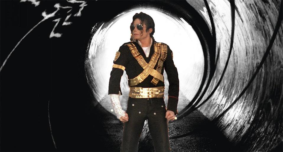 Michael Jackson wanted to play 007 (Getty/Sony Pictures)
