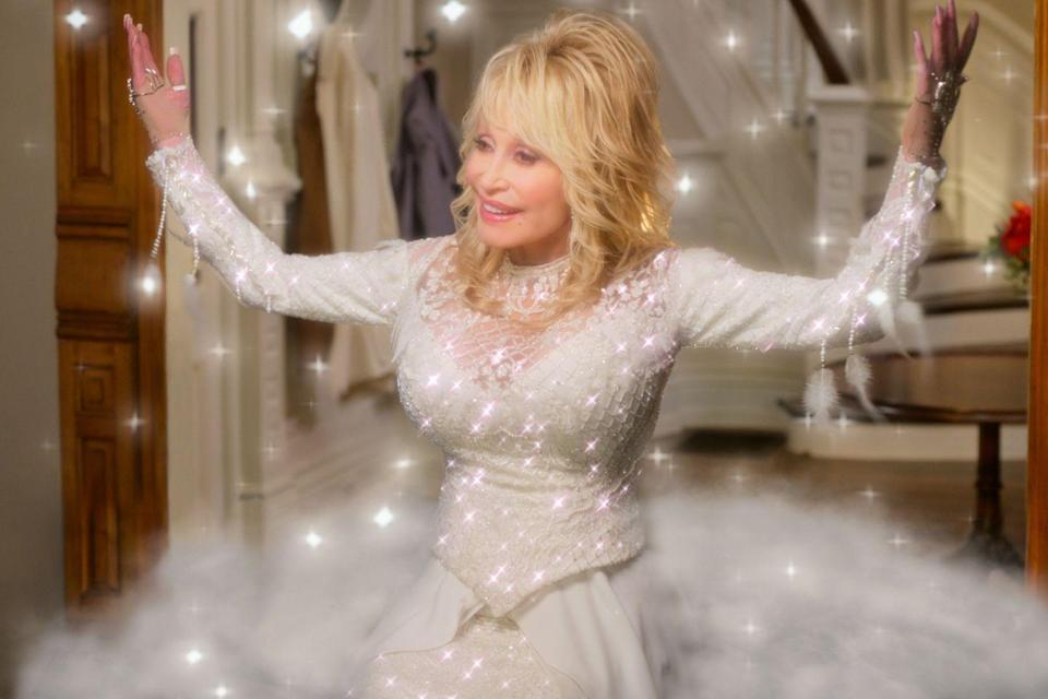 <p>Also new in 2020, <em>Christmas on the Square</em> is a must-watch for any fan of national treasure Dolly Parton. She not only stars in this flick about an angel who visits a businesswoman who's intent on selling her own hometown off to a developer right before the holidays—she also wrote an entire soundtrack of brand new songs for it.</p>