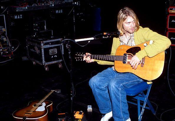 <p>The band performed several covers and renditions of other songs during their <em>MTV Unplugged</em> performance. The acoustic set was released as an album the year after Cobain's death.</p>