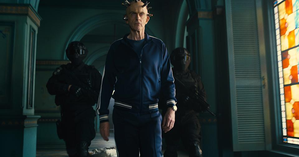Peter Capaldi stars in The Suicide Squad (Warner Bros.)