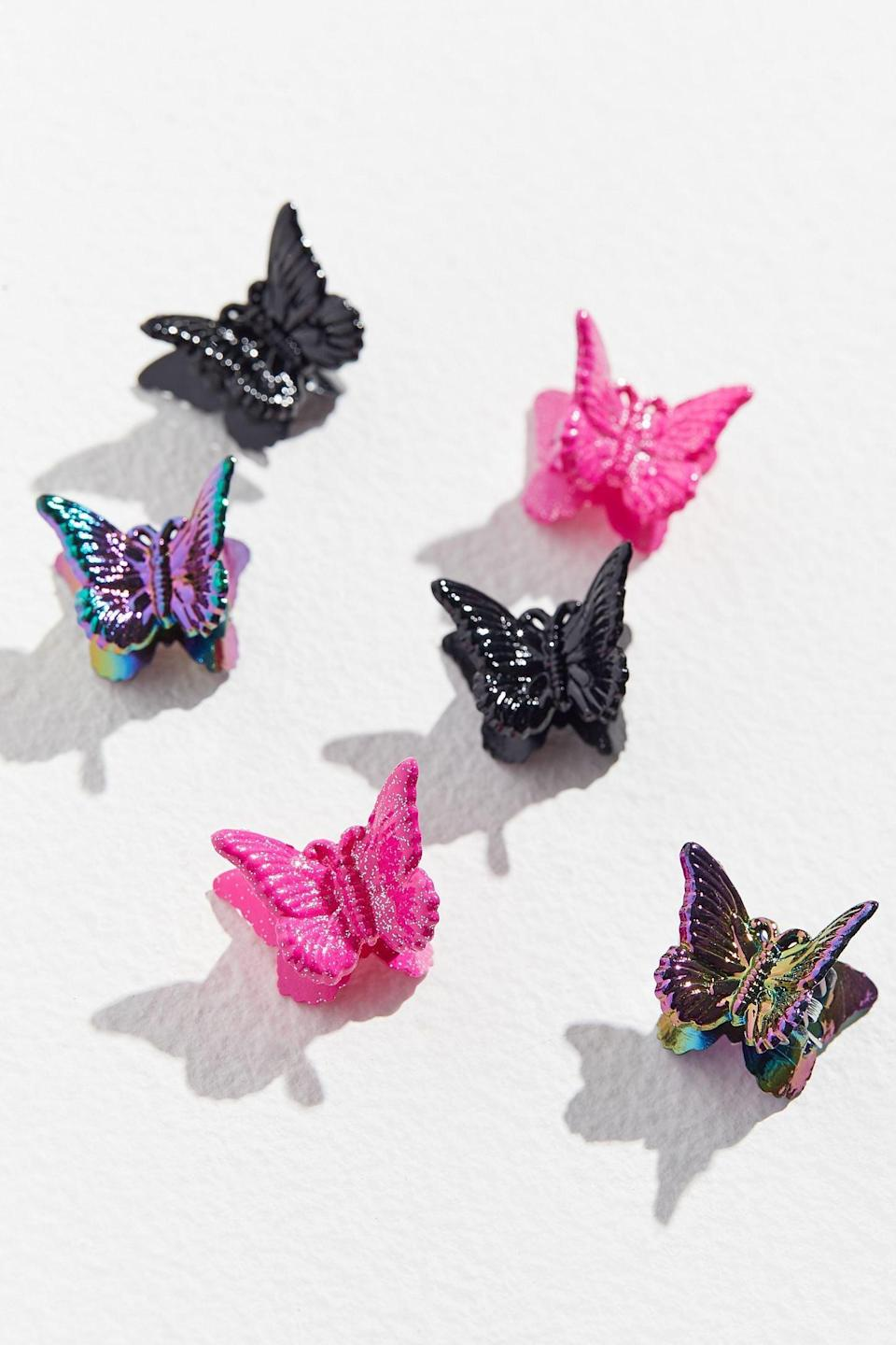 <p>A '90s hairstyle wasn't complete without a <span>Butterfly Hair Clip Set</span> ($6 for six). </p>