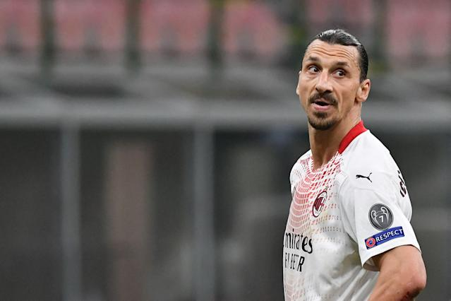 Zlatan Ibrahimovic has scored 14 goals in 13 Serie A appearances for AC Milan this season.