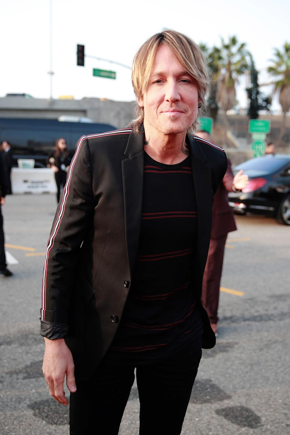 Keith Urban attends the 62nd Annual GRAMMY Awards at STAPLES Center on January 26, 2020 in Los Angeles, California.