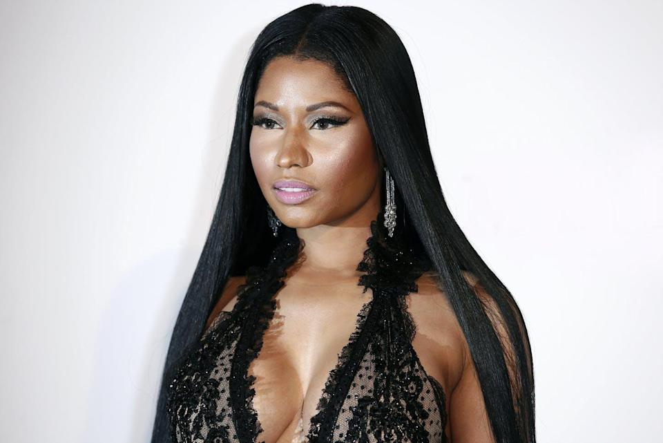 """<span class=""""caption"""">Nicki Minaj's vaccination claim that caused an uproar Sept. 13 was publicly refuted by Trinidad and Tobago's health minister. </span> <span class=""""attribution""""><span class=""""source"""">(Shutterstock)</span></span>"""