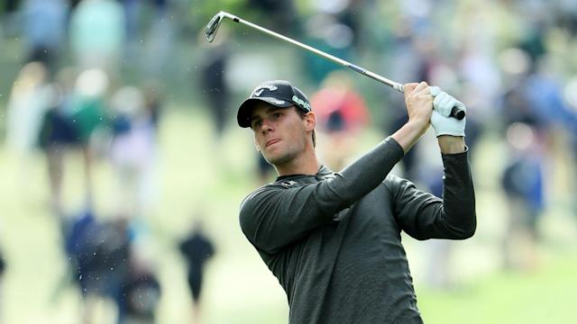 High winds made low scoring difficult at Augusta, but Thomas Pieters made a brilliant start to his opening round at the Masters.