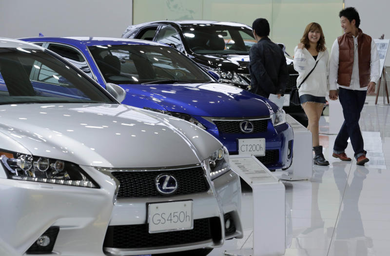 toyota sold nearly million vehicles last year. Black Bedroom Furniture Sets. Home Design Ideas