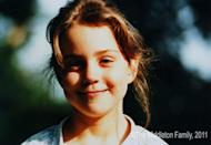 <p>Smiling in a childhood photo at the age of 5, provided by the Middleton family in celebration of Kate's 2011 engagement to Prince William. </p>