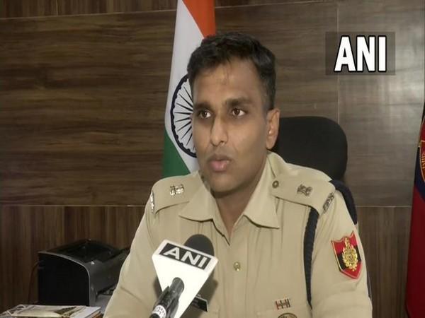 DCP of South-East Delhi, RP Meena. (Photo/ANI)
