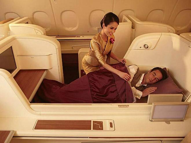 Passengers can enjoy the Royal Orchid Spa at Bangkok Airport (Thai Airways )