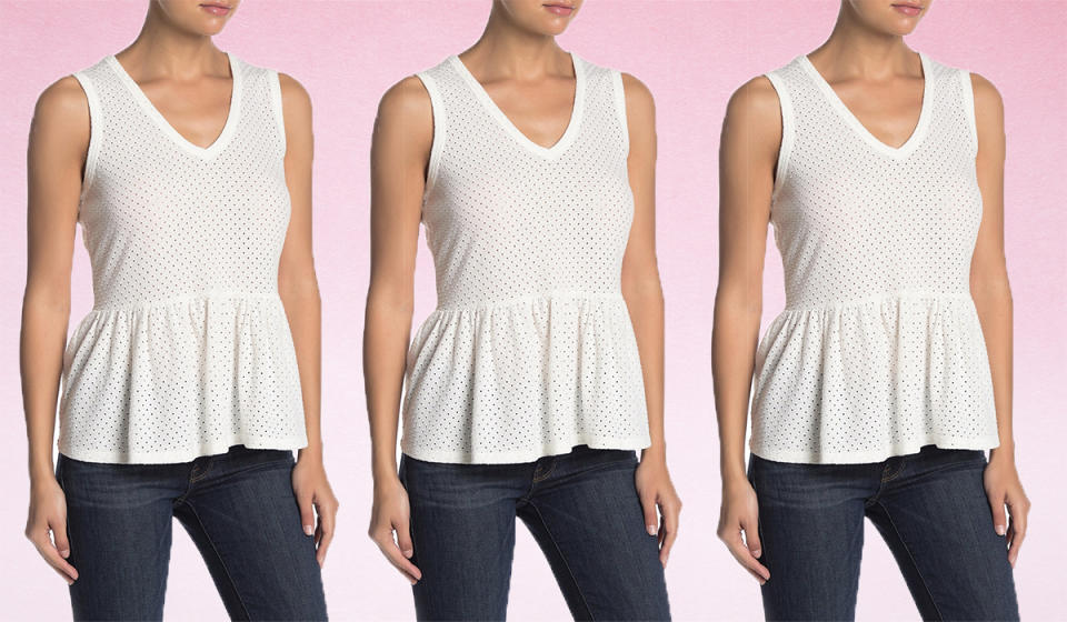 Snag 81 percent off this gorgeous tank. (Photo: Nordstrom Rack)