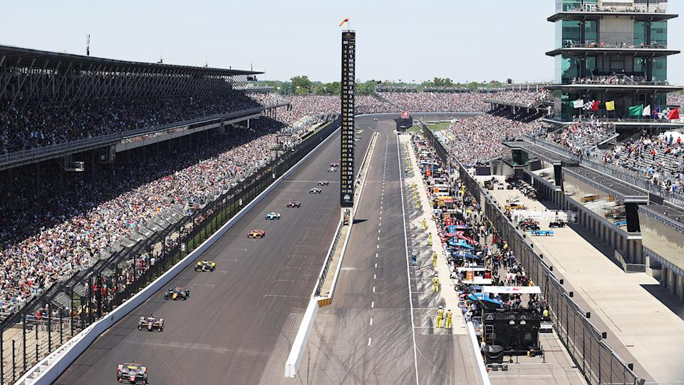 A world record crowd, pictured here at Indianapolis Motor Speedway for the Indianapolis 500.