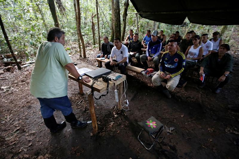 Colombia FARC rebels peace deal cocaine production