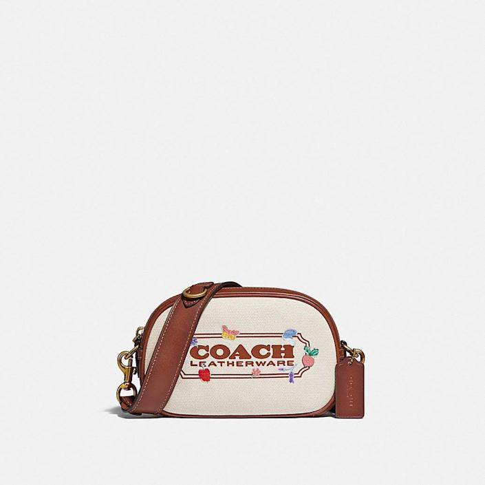 <p>Wear this <span>Coach Camera Crossbody With Garden Embroidery Coach Badge</span> ($275) with jeans and a tee this summer.</p>