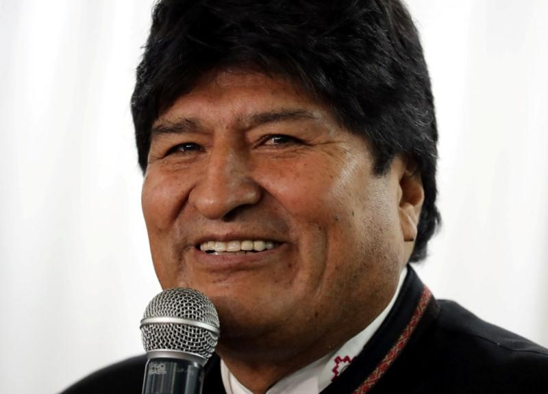 U.S. official accuses ex-leader Morales of fostering violence in Bolivia