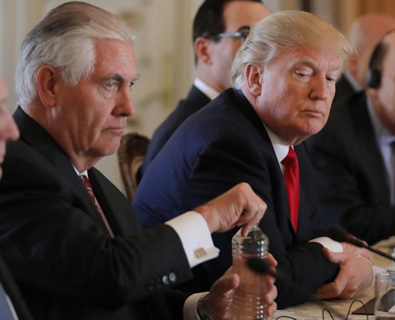 Donald Trump to Meet Rex Tillerson After Reports of 'Chaos' and Resignation at the State Department