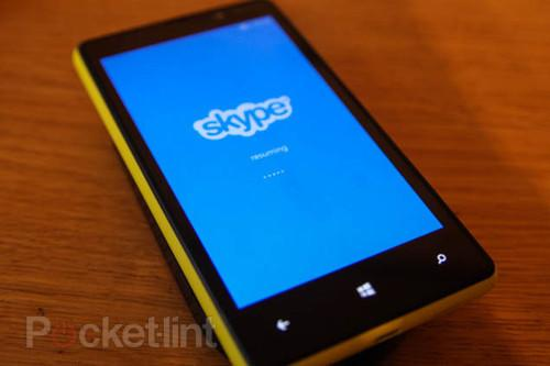 Skype for Windows Phone 8 now available