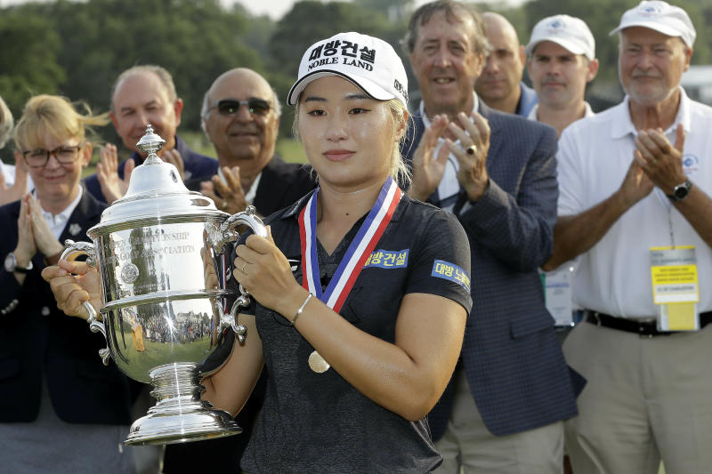 South Korea's Jeongeun Lee6 is No. 1 at US Women's Open