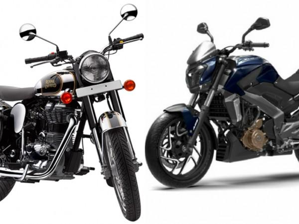 Royal Enfield vs Bajaj Auto