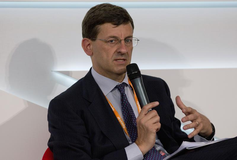 Vodaphone Chief Executive Vittorio Colao speaks at the Global Investment Conference 2012 in London