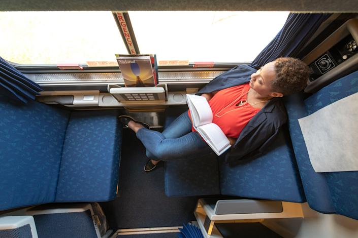 For a limited time, you can buy a roomette ticket and get another free.
