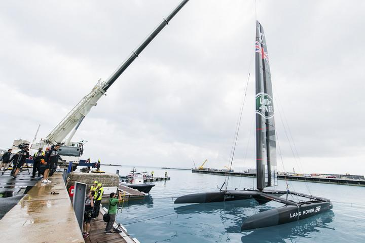 land rover bar americas cup yacht race america s launch their acc and officially open the th hour exploration zone at in ber