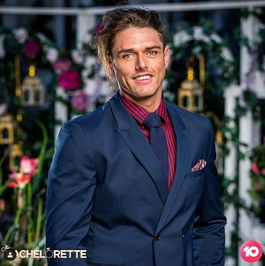 Timm Hanly pictured on Bachelorette