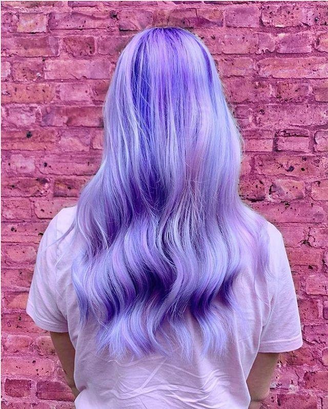 """<p>For hair inspired by your favourite crystal, ask your hairdresser for tonal purple highlights to add extra depth and dimension.</p><p><a href=""""https://www.instagram.com/p/B1bSBfEJ-63/"""" rel=""""nofollow noopener"""" target=""""_blank"""" data-ylk=""""slk:See the original post on Instagram"""" class=""""link rapid-noclick-resp"""">See the original post on Instagram</a></p>"""