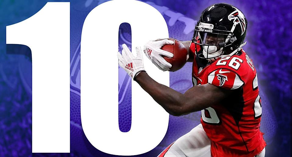 <p>The Falcons needed that win over the Panthers, but at some point they're going to feel the losses of Devonta Freeman, Keanu Neal and linebacker Deion Jones. (Tevin Coleman) </p>