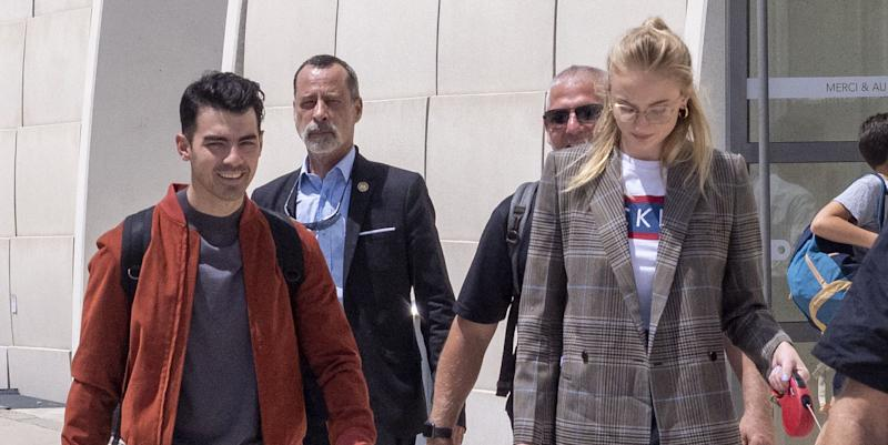 Joe Jonas and Sophie Turner Have Second Wedding Ceremony in France