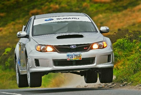 The Top Gear effect: Used car searches for Subaru Impreza sky rocket during last week's programme