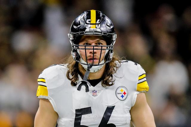 "<a class=""link rapid-noclick-resp"" href=""/nfl/teams/pittsburgh/"" data-ylk=""slk:Pittsburgh Steelers"">Pittsburgh Steelers</a> linebacker <a class=""link rapid-noclick-resp"" href=""/nfl/players/28600/"" data-ylk=""slk:Anthony Chickillo"">Anthony Chickillo</a> was charged with assault after an altercation with his girlfriend. (Stephen Lew/Icon Sportswire via Getty Images)"