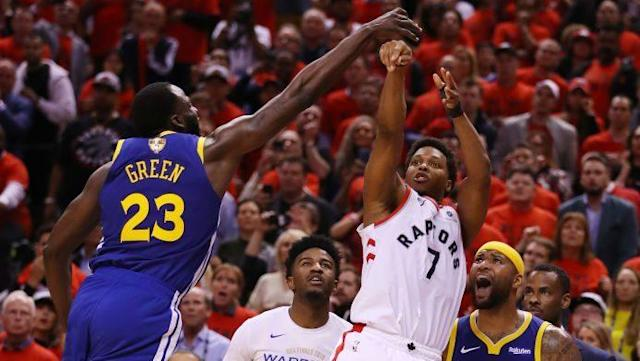 Draymond Green's block ends Toronto's final chance to win Game 5 of NBA Finals