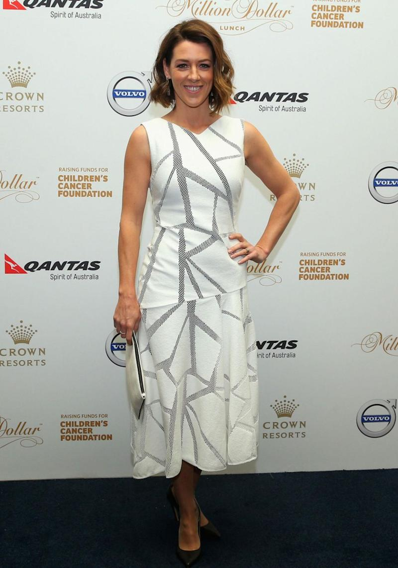 The Project panellist Gorgi Coghlan, who is based in Melbourne to present the Channel Ten show, encouraged Melbourne-siders to