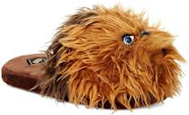 <p>Let these <span>Star Wars Chewbacca Men's 3D Character Plush Slippers</span> ($22) guide him around his home. </p>