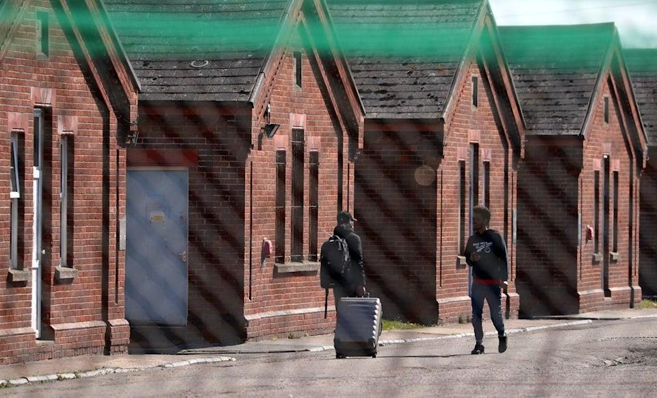 MPs and peers have described using military barracks to house asylum seekers as 'profoundly inappropriate' (Gareth Fuller/PA) (PA Wire)