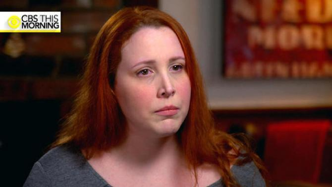 Dylan Farrow speaks to Gayle King on <em>CBS This Morning.</em> (CBS)