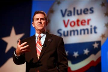 Jim DeMint speaks at the 2010 Values Voter Summit.